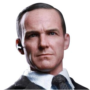 [Marvel: Avengers Movie: Hot Toys Deluxe Action Figure: Agent Phil Coulson (Product Image)]