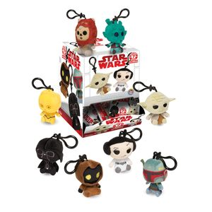 [Star Wars: Classic Mystery Minis Plush Keychains (Product Image)]