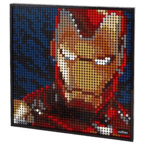 [LEGO Art: Marvel Studios 3-In-1 Wall Art Kit: Iron Man (Product Image)]