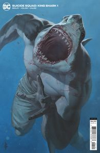 [The Suicide Squad: King Shark #1 (Cover B Riccardo Federici Card Stock Variant) (Product Image)]