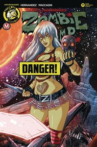 [Zombie Tramp: Ongoing #71 (Cover D Rudetoons Reynolds Risque (Mr) (Product Image)]