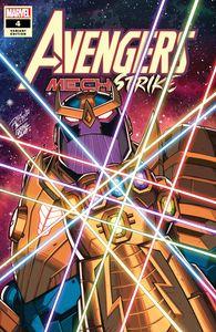 [Avengers: Mech Strike #4 (Ron Lim Variant) (Product Image)]