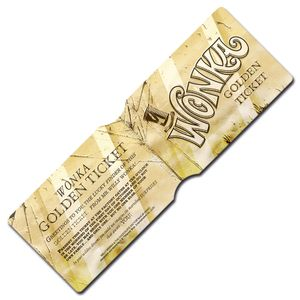 [Willy Wonka & The Chocolate Factory: Travel Pass Holder: Golden Ticket (Product Image)]