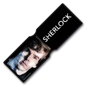 [Sherlock: Travelpass Holder: Sherlock Pixelated (Product Image)]