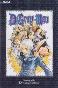 [D. Gray-Man: 3-In-1 Edition: Volume 3 (Product Image)]