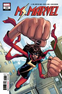 [Ms Marvel #33 (Product Image)]