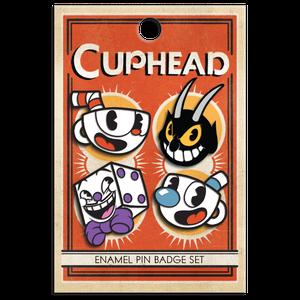 [Cuphead: Enamel Pin Badge Set (Product Image)]