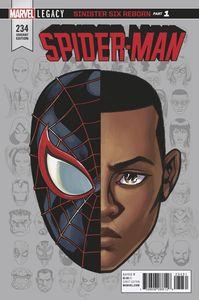 [Spider-Man #234 (McKone Legacy Headshot Variant) (Legacy) (Product Image)]
