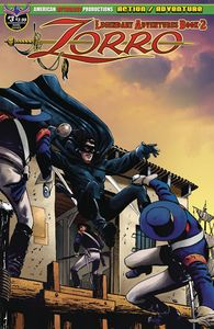 [Zorro: Legendary Adventures: Book 2 #3 (Main Cover) (Product Image)]