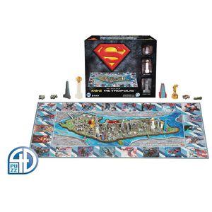 [Superman: Mini 4D Puzzle: Metropolis (Product Image)]