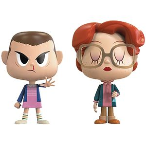 [Stranger Things: VYNL Figure: Eleven With Eggos & Barb 2 Pack (Product Image)]