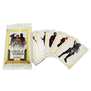 [Deck Of Stories: NPC Pack #1 (Booster Pack) (Product Image)]