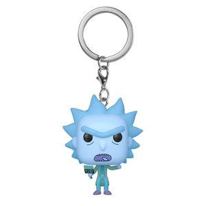 [Rick & Morty: Pocket Pop! Vinyl Keychain: Hologram Rick Clone (Product Image)]