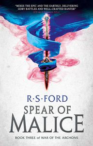 [War Of The Archons: Book 3: TheSpear Of Malice (Product Image)]