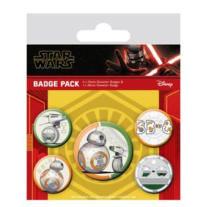 [Star Wars: The Rise Of Skywalker: Badge Pack: Droids (Product Image)]