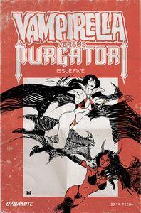 [Vampirella Vs Purgatori #5 (Cover E Broxton) (Product Image)]