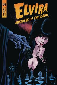 [Elvira: Mistress Of Dark #6 (Cover B Cermak) (Product Image)]