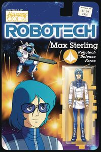 [Robotech #8 (Cover B Action Figure Variant) (Product Image)]