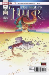 [MIghty Thor #701 (2nd Printing Dauterman Variant) (Legacy) (Product Image)]