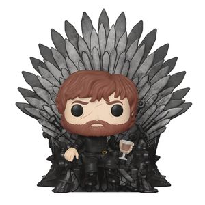 [Game Of Thrones: Pop! Vinyl Deluxe Figure: Tyrion Sitting On Iron Throne (Product Image)]