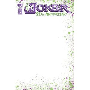 [Joker: 80th Anniversary 100 Page Super Spectacular #1 (Blank Variant Edition) (Product Image)]