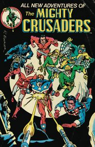 [Mighty Crusaders #4 (Cover B Red Circle) (Product Image)]