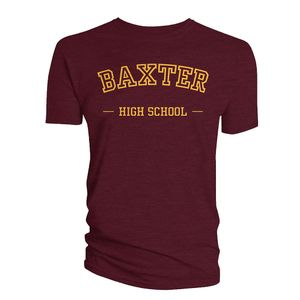 [The Chilling Adventures Of Sabrina: T-Shirt: Baxter's High (Product Image)]