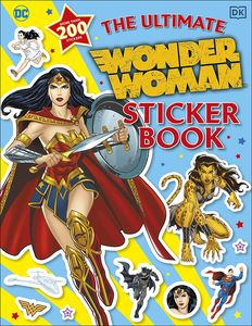 [The Ultimate Wonder Woman Sticker Book (Product Image)]