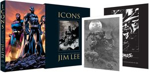 [Icons: The DC Comics And Wildstorm Art Of Jim Lee (Hardcover - Signed Limited Edition) (Product Image)]