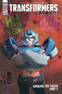 [Transformers: Galaxies #9 (Cover B Pitre-Durocher) (Product Image)]