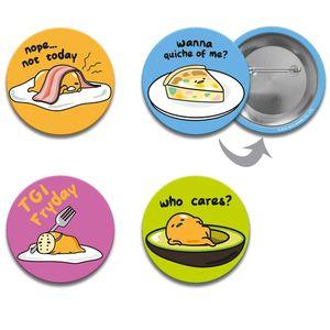 [Gudetama: Badge Set 2 (Product Image)]