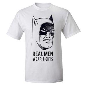 [Batman: T-Shirt: Real Men Wear Tights (Product Image)]