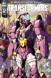 [Transformers #12 (Cover A Milne) (Product Image)]