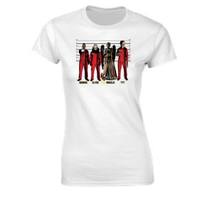 [Doctor Who: Women's Fit T-Shirt: Monster Prisoner Line-Up (Product Image)]