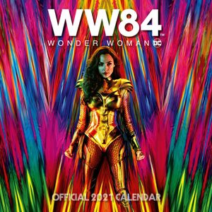 [DC: 2021 Square Calendar: Wonder Woman 1984 Movie (Product Image)]
