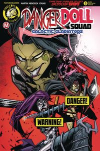 [Danger Doll Squad: Galactic Gladiators #2 (Cover D Maccagni Risq) (Product Image)]