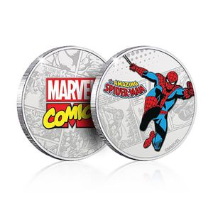 [Marvel: .999 Silver Plated Coin: Spider-Man (Product Image)]