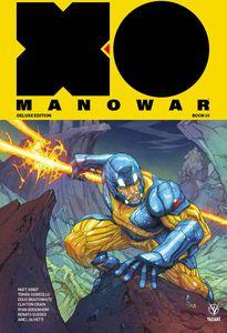 [X-O Manowar (2017) Matt Kindt: Deluxe Edition: Volume 1 (Hardcover) (Product Image)]