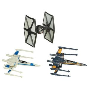 [Star Wars: The Force Awakens: Wave 2 Vehicle 3-Pack: Episode VII X-Wing Dogfight (Product Image)]