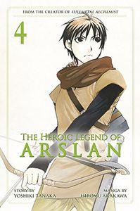 [The Heroic Legend Of Arslan: Volume 4 (Product Image)]