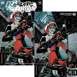 [Harley Quinn #75 (Adam Hughes Exclusive Variant Set) (Product Image)]