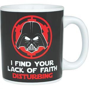 [Star Wars: Mug: Lack Of Faith (Product Image)]