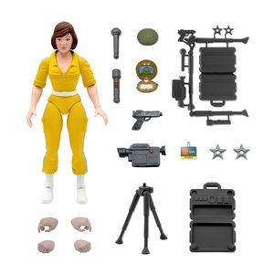 [Teenage Mutant Ninja Turtles: Ultimates Action Figure: April O'Neil (Product Image)]