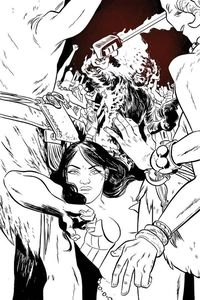 [Dejah Thoris (2019) #2 (Henderson Black & White Variant) (Product Image)]