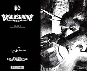 [Deathstroke Inc #1 (Cover D Team Gerardo Zaffino Foil Card Stock Variant) (Product Image)]
