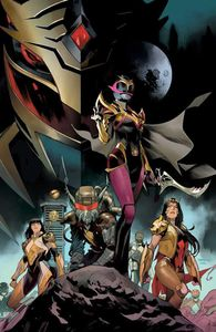 [Power Rangers: Drakkon New Dawn #1 (Mora Variant) (Product Image)]
