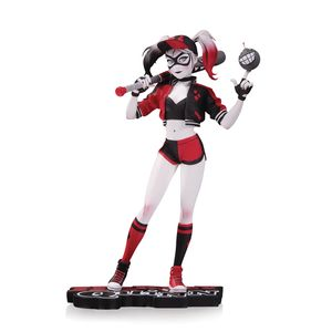 [DC: Statue: Red, White & Black Harley Quinn (Product Image)]