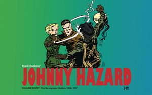 [Johnny Hazard Dailies: Volume 8: 1956-1957 (Hardcover) (Product Image)]