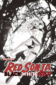 [Red Sonja: Black White Red #4 (Cover F Staggs Black & White Variant) (Product Image)]