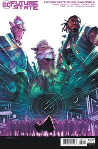 [Future State Green Lantern #2 (Cover B Jamal Campbell Card Stock Variant) (Product Image)]